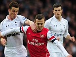 Road to recovery: Arsenal expect Jack Wilshere to be fit to face Reading on March 30