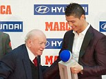 Outstanding: But Cristiano Ronaldo may not be remembered with the same fondness as Di Stefano