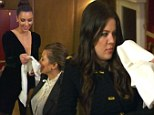 They did WHAT! Khloe officiates a bizarre and intimate competition as Kim and Kourtney get competitive over their sex life