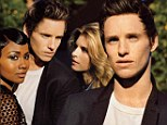 The cover of W Magazine's April New Guard issue features a trio of young Hollywood actors we feel are destined for the big time including, Eddie Redmayne, Brit Marling and Emayatzy Corinealdi