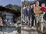 Wife is married to FIVE brothers... and they all get along famously in small shack in Indian village