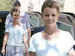 They're inseparable! Britney Spears grins as she goes for an afternoon drive with new beau 'everyday Dave'