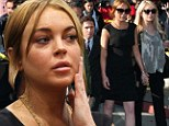 Down to the wire: Lindsay Lohan's likelihood of making Monday court appearance in question as she 'misses flight back to Los Angeles'