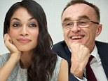 How awkward! Rosario Dawson and Danny Boyle 'completely ignore each other at press junket for their new film after ending their romance'