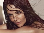 'I'm open to it': Katie Holmes reveals she would consider expanding her family as she turns beach babe for gorgeous photo shoot
