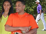 Will Smith and Jada Pinkett prove romance isn't dead as they holiday in Hawaii... before the Fresh Prince takes some time out for a game of golf