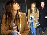 Lady in waiting: Jessica Biel was left waiting in the cold for husband Justin Timberlake, on Saturday