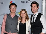 Farewell, Dunder-Mifflin! John Krasinski, Rainn Wilson and the cast of The Office say their goodbyes at season nine wrap party
