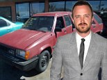 Iconic: Jesse Pinkman's beat-up drug running car will go on sale later this summer after final episode of Breaking Bad airs