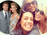 Single and celebrating! Julianne Hough toasts to the single life with best friend Nina Dobrev after split from Ryan Seacrest