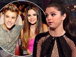 'I made him cry': Selena Gomez jokes about ex-boyfriend Justin Bieber as she opens up about split for first time on David Letterman