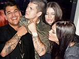 He's our brother! Rob Kardashian swamped with birthday blessings from Kim, Khloe, Kourtney, Kris, and Kendall