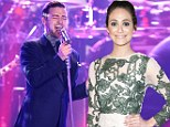 Bringing dainty back! Emmy Rossum makes them green with envy in pretty embroidered dress as she attends Justin Timberlake's album release party
