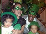 'Dem babies still celebrating': Mariah Carey and Nick Cannon threw themselves into the spirit of St Patrick's Day by dressing twins Moroccan and Monroe up in fun green outfits