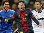 Hazard, Messi, Ronaldo