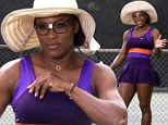 Who are you calling mature? World's oldest No.1 Serena Williams larks around on shoot as she prepares to retain her title at Miami