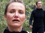 Cameron Diaz proved she doesn't need layers of makeup and slimming Spanx to look her best as she went make-up free for a hike in Los Angeles on Tuesday