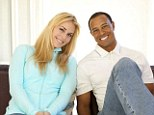 Together: Tiger Woods and downhill skier Lindsey Vonn