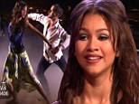 Dancing With The Stars' youngest ever contestant Zendaya Coleman, 16, takes an early lead as the competition kicks off