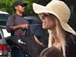 That's devotion! Lindsey Vonn waits in new boyfriend Tiger Wood's car for ONE hour to avoid run in with golfer's ex-wife Elin Nodergren at children's baseball game