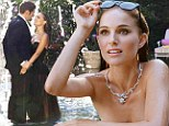Natalie Portman the graceful Black Swan emerges from a fountain in Miss Dior perfume commercial