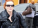 She's far from Desperate: Full-time mother Marcia Cross maintains her Hollywood figure as she hits the gym