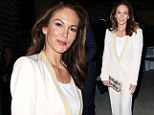 The cream of the crop! Diane Lane shows Josh Brolin what he's missing in stunning pale suit