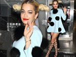 Cartoon catastrophe! Rita Ora's attempt to be quirky fails miserably as she sports bizarre pom-pom dress for Japanese show