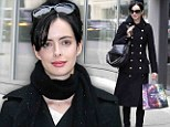Kristen Ritter goes shopping at Topshop in New York