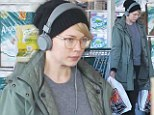 Michelle Williams was spotted grocery shopping on Tuesday