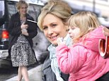 She's used to quick costume changes! Actress Vera Farmiga is mommy casual with her family...before transforming into a Fifties-style siren