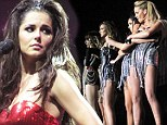 'It's gone too quickly!' Cheryl Cole gets tearful during the penultimate night of Girls Aloud's reunion tour