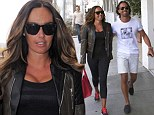 British billionaire socialite Tamara Ecclestone is all smiles while out and about with her fiance Jay Rutland in Beverly Hills, California