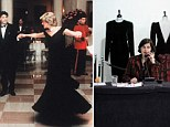 Going, going, gone ... for £200k LESS than expected: Princess Diana dress auction disappoints as gowns raise just £719,000