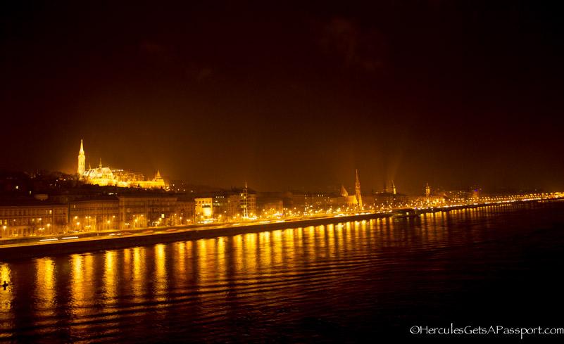 DanubeNight Budapest At Night