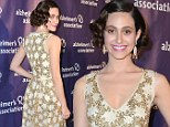 Of another era! Emmy Rossum is the picture of elegance at ¿A Night At Sardi¿s¿ Gala