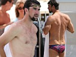 Anything Lochte can do! Now Michael Phelps is followed by a camera crew as he shows off his swimmer's body in Miami