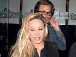 Adrienne Maloof and Sean Stewart put split rumours to bed as they enjoy another date with romantic dinner for two