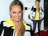 Kristin Chenoweth appeared to forget a few fashion commandments at a New York City gala on Tuesday night.