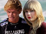 New romance? Taylor Swift 'has been text messaging' Hawaiian surfer John John Florence as the two are rumoured to be dating