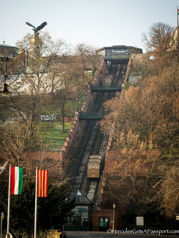 funicular Touring Castle Hill, Budapest