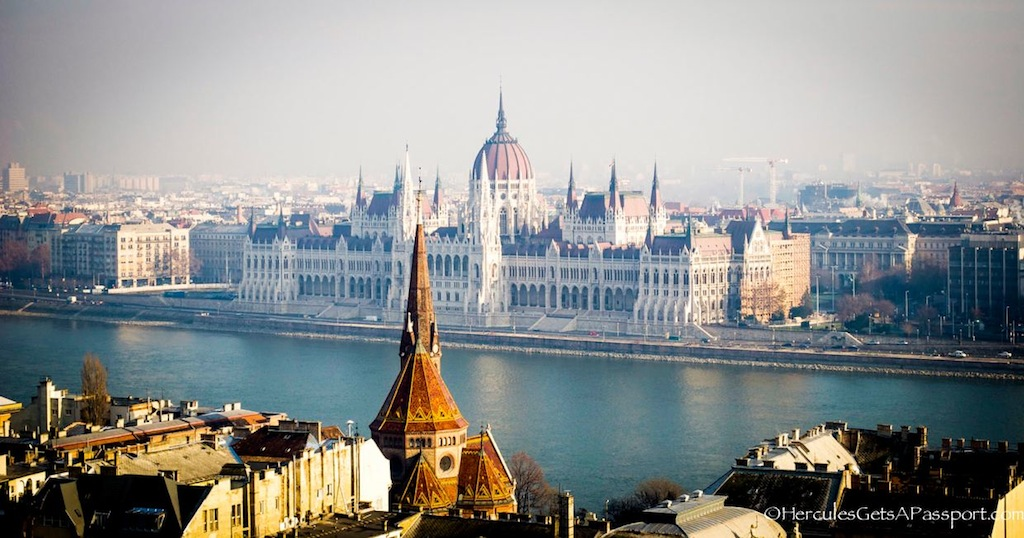 Parliament1 Touring Castle Hill, Budapest