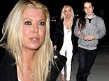 Up to her old tricks! Tara Reid goes from red carpet to the club without missing a beat