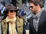 Mixing business with pleasure! Bethenny Frankel enjoys lunch with dreamy Skinnygirl associate