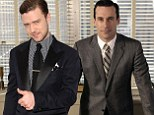 Jon Hamm from Mad Men thinks Justin Timberlake is a trendsetter