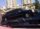 President Obama's armored limo broke down in Tel Aviv this morning as it was headed to the airport after the driver mistakenly put gas in the engine instead of diesel
