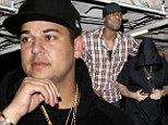 Brother from another mother: Lamar Odom parties with his favourite in-law Rob Kardashian until 2am