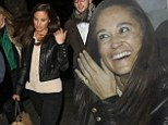 She'll have a serious workout to do tomorrow! Pippa Middleton heads out for hotdogs in London with stockbroker boyfriend Nico Jackson