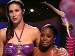 Keshia Knight Pulliam becomes first star to bellyflop out of the competition as Katherine Webb avoids elimination in Splash premiere