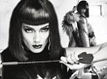 From Angel to dominatrix: Victoria's Secret model Selita Ebanks sheds her good girl image in racy bondage-inspired photo shoot